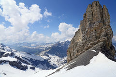 Titlis Stockbild