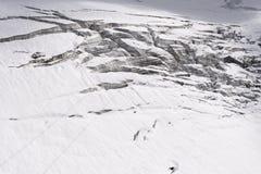 Titlis glacier Stock Image