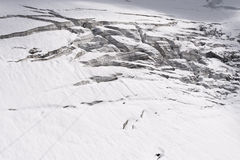 Titlis-Gletscher Stockbild