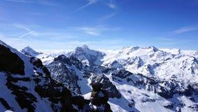 Titlis snow mountains Stock Photography