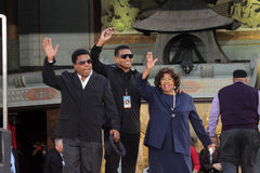 Tito Jackson, Jackie Jackson, Katherine Jackson, Michael Jackson Royalty Free Stock Image