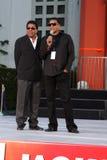 Tito Jackson, Jackie Jackson, Michael Jackson Stock Images