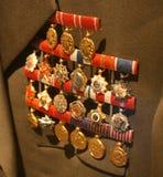 Tito/medaljer Arkivfoton