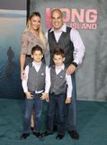Tito Ortiz and Amber Nichole Royalty Free Stock Photos