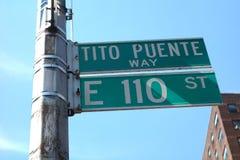 Tito Puente Way Arkivfoton