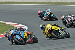 Tito rabat and alex rins in the circuit of Catalonia Stock Photo