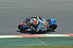Tito Rabat in the circuit of Catalonia Royalty Free Stock Photography