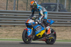 Tito Rabat Moto2 Grand Prix Movistar Aragà ³ ν Στοκ φωτογραφίες με δικαίωμα ελεύθερης χρήσης