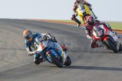 Tito Rabat Moto2 Grand Prix Movistar Aragà ³ ν Στοκ Φωτογραφία