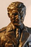 Tito statue. Marshal Tito bronze statue close up Royalty Free Stock Image