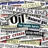 Titoli di energia illustrazione di stock