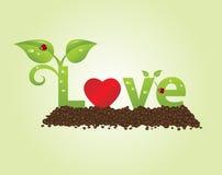 Titolo di amore royalty illustrazione gratis