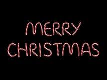 Titolo di Buon Natale Immagini Stock