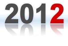 Titolo di nuovo 2012 illustrazione vettoriale