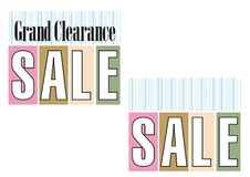 Titolo di vendita - 4 illustrazione vettoriale