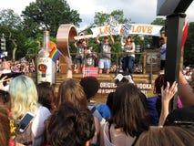 Titos Float bei Haupt-Pride Parade im Washington DC lizenzfreies stockbild
