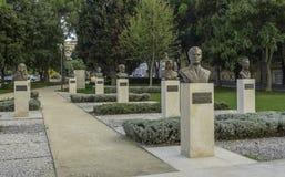 Titov parkerar royaltyfria bilder