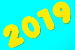 Titre 2019 Photo stock