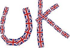 Titre britannique illustration stock