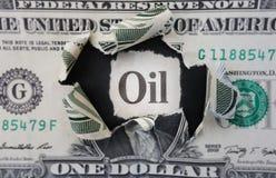 Titre d'huile Photo libre de droits