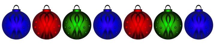 Titre de Noël Image stock