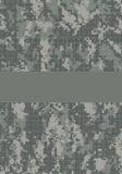 titre de page de camouflage Images stock