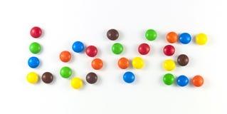 Titre de Valentines des sucreries Image stock