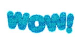 Titre de wow Image stock
