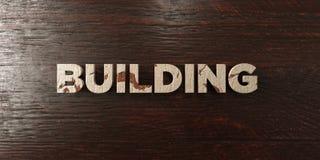 - Titre en bois sale sur l'érable - 3D de construction a rendu l'image courante gratuite de redevance Image stock