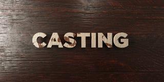 - Titre en bois sale sur l'érable - 3D de moulage a rendu l'image courante gratuite de redevance Photo stock