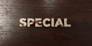 - Titre en bois sale sur l'érable - 3D spécial a rendu l'image courante gratuite de redevance Photographie stock libre de droits