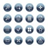 tittare för mineral för droppsymbolsbild stock illustrationer