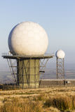 Titterstone Clee Hill, National Air Traffic Services Radar Dome Royalty Free Stock Photos