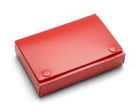 Titular do cartão vermelho do índice fotos de stock
