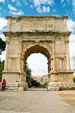 Titus曲拱,罗马 免版税图库摄影