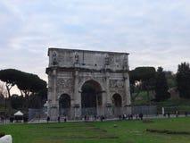 titus της Ρώμης αψίδων στοκ φωτογραφία με δικαίωμα ελεύθερης χρήσης