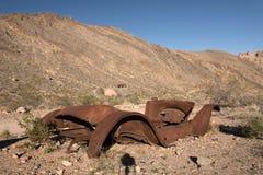 Titus Canyon, California, los E.E.U.U. Imagenes de archivo