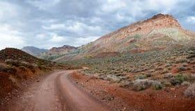 Titus Canyon Desert Trail fotos de stock royalty free