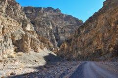 Titus Canyon, het Nationale Park van de Doodsvallei, Californië, de V.S. Stock Foto