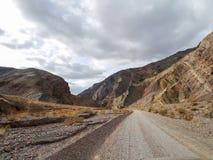 Titus Canyon Road Image libre de droits
