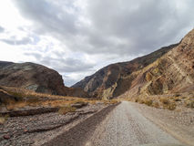 Titus Canyon Road. Landscape of Titus Canyon Road in Death Valley National Park, California, United States Royalty Free Stock Image