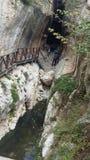 Titus tunnel Arkivbild