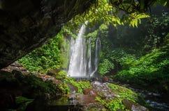 Tiu kelep waterfall stock photos