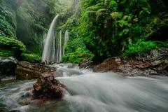 Tiu Kelep vattenfall Arkivbilder