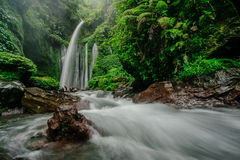 TIU KELEP WATERFALL Stock Images