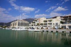 Tivat, Πόρτο Μαυροβούνιο, Μαυροβούνιο Στοκ εικόνα με δικαίωμα ελεύθερης χρήσης