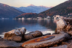 Tivat bay Stock Images