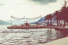 Tivat em Montenegro Foto de Stock Royalty Free