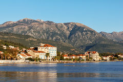 Tivat, Kotor bay, Montenegro Royalty Free Stock Photos