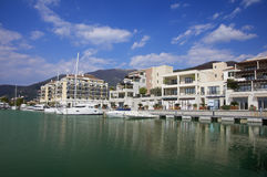 Tivat, Porto Montenegro, Montenegro Imagem de Stock Royalty Free